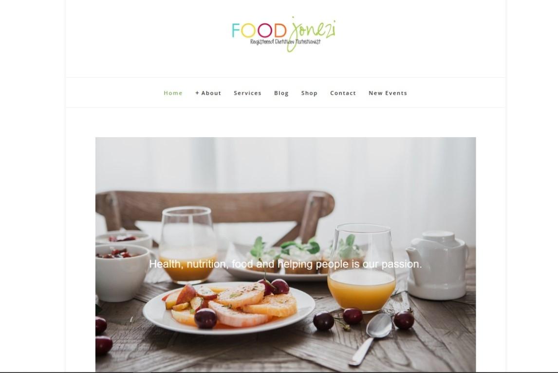 FoodJonezi-Website