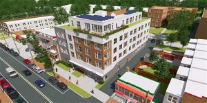 Groundbreaking for The Todd A. Lee Senior Residences at Kennedy Street