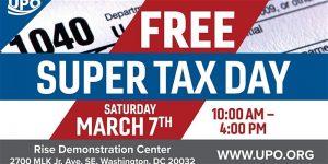Super Tax Day - Free Tax Event