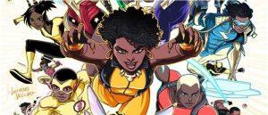 Black Super Heroes Collage