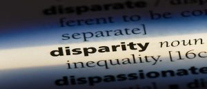 disparity in dictionary format
