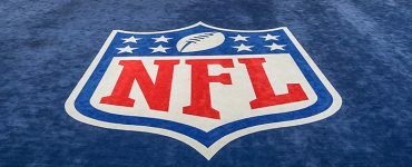 NFL Logo on Blue Carpet
