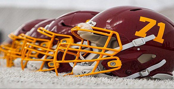 New Washington Football Team Logo-less helmets
