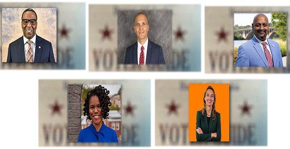 5 city council candidates