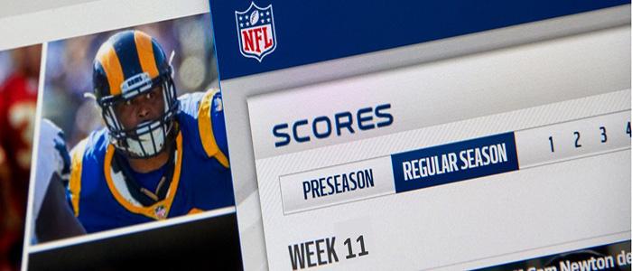 NFL - Week 11 Scores