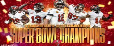 Tampa Bay Bucs Superbowl Poster