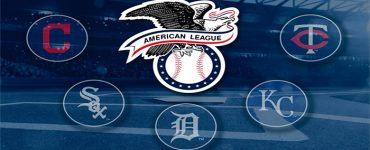 Team logos MLB AL Central