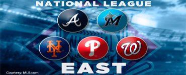MLB NL East Logos