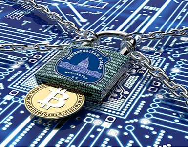 malware or ransomware attack concept padlock with money, clipping path, 3d illustration