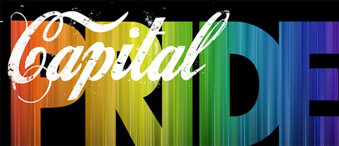 Captal Pride banner for Pride Month